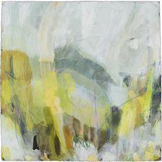"Ellen Levine Dodd - ""Smokey Cove 1"" - 30"" x 30"" - acrylic mixed media on cotton rag paper - available at Anne Neilson Fine Art"