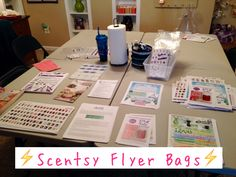 What to put into a Scentsy Flyer Bag!!
