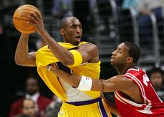 The Lakers squashed a deal that would have paired T-Mac with Kobe and Shaq Kobe Bryant, Nba, Pairs, Sports, Image, Hs Sports, Sport