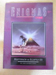 MISTERIOS DE EGIPTO III - coleccion enigmas de espacio y tiempo