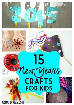 New Years Crafts for Kids and Elderly
