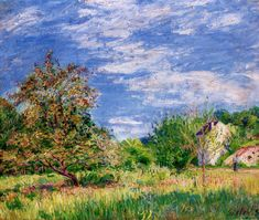 The Factory at Sevres - Alfred Sisley - WikiPaintings.org