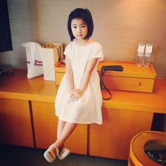 Prettier and prettier haru by haru. Asian Kids, Cute Asian Girls, Lee Haru, Sulli, Korean Star, Foto Pose, Happy Day, Cute Kids, Superman