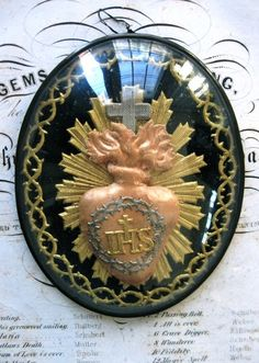 love this sacred heart piece