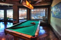 Pool Room. Private Club at home.