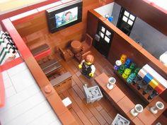 Chili's Restaurant - Cafe Corner modular building: A LEGO® creation by Brian Lyles : MOCpages.com