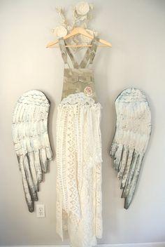Summer Maxi Dress boho bib overalls bohemian by TrueRebelClothing, $82.00