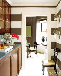4 pareti a righe in cucina; Pareti A Righe