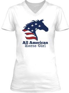 AllAmerican HorseGirl