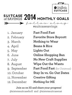 Suitcase of Savings UPDATE: April Goal
