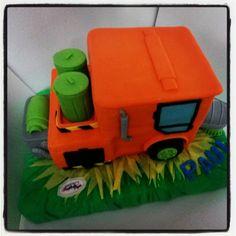 Torta modelada