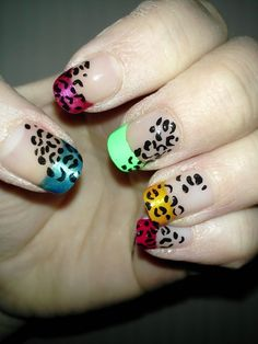 Colorful Leopard Design