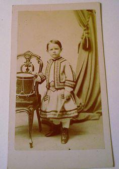 Antique photographs Carte de Visite  Cabinet by WeeLambieVintage, $35.00