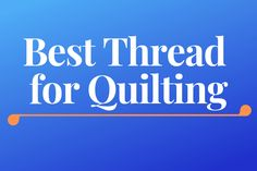 Wondering what kind of quilting supplies and tools you need to start with? For you, that's the topic today - Best Quilting Tools and Supplies for Beginners! Quilting Thread, Quilting Rulers, Quilting Tools, Hand Quilting, Machine Quilting, Quilting Projects, Quilting Designs, Best Iron, Quilt Batting