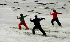 Single Whip Times Three - #TaiChi #Taijiquan