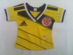 Camiseta Seleccion Colombia. Para muñeca American Girl
