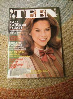 August 1982 'Teen Magazine Girl Fashion Beauty Women Seventeen Young Miss   eBay