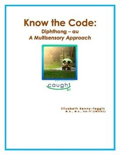 Thank you for previewing this multisensory lesson with student activities that can used to support student memory for eventual automatic understanding of au. This lesson is in PDF form. This multisensory lesson is based on the principles and research of The Orton Gillingham approach, a multisensory, explicit, sequential, and cumulative approach, which incorporates repetition and continual review.This multisensory lesson can be used in a class setting, independently, or with a small group…