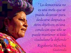 En Zona Feminista: Mujeres Ganadoras del Premio Nobel (XXXII). Rigoberta Menchú