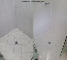 Bathroom Makeovers Sydney tile rescue inner west sydney - leaking shower base repaired