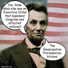 15 Humorous Memes and Cartoons on Immigration Reform: Lincoln's Executive Order