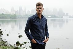 Outlier's new Supermarine Rain Shirt looks like a casual shirt and is breathable, highly water resistant and completely windproof.