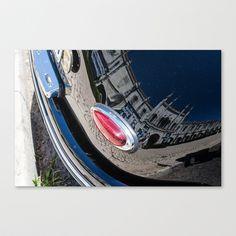 reflet, architecture Stretched Canvas by Sébastien BOUVIER - $85.00 Architecture, Boat, Canvas, Lens Flare, Arquitetura, Tela, Dinghy, Boats, Canvases
