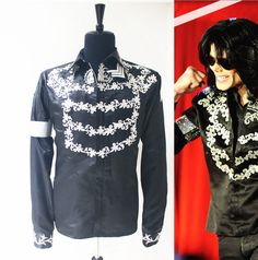 """Michael Jackson """"This Is It Press Conference"""" Black Jacket"""