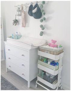 Ikea Baby Room, Ikea Baby Nursery, Baby Room Diy, Baby Bedroom, Baby Room Decor, Nursery Room, Ikea Girls Room, Small Baby Nursery, Nursery Ideas