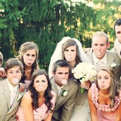 Wedding advice: Should the bride and groom pay for the bridal party's attire? Photo via Bliss Events