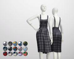 Rusty's — Overall Skirts / Turtleneck 15 Color 무단수정/2차배포 절대...
