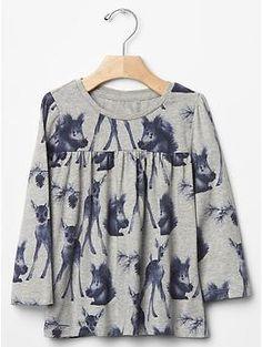 Printed tunic | Gap 18-24m