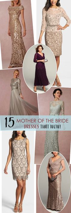 15 Mother of the Bride Dresses that Wow! http://www.theperfectpaletteshop.com/#!mother-of-the-bride-dresses/cnaf