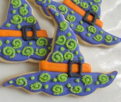 Halloween decorated cookies / Galletas Decoradas para Halloween