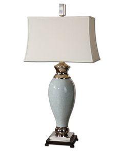 Uttermost Rossa Light Blue Table Lamp