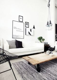 black // white // living room ( HID )