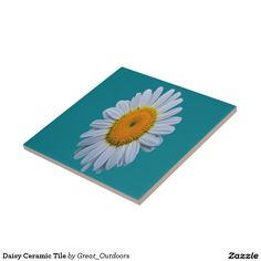 Daisy Ceramic Tile