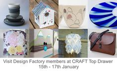 As well as our group stand at CRAFT @topdrawerlondon we also have 8 members exhibiting individually. #dfmember #craft #crafttopdrawer2017 #design #topdrawer2017 #craft2017 #designfactory