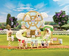 Calico Critters - Baby Amusement Park