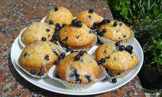 Blueberry Muffins, Muffinki z jagodami