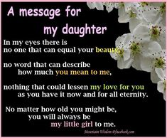20 Best Mother And Daughter Quotes quotes quote kids mom mother daughter family quote family quotes children mother quotes daughters Love My Daughter Quotes, My Beautiful Daughter, To My Daughter, Son Quotes, Qoutes, Baby Quotes, Sayings About Daughters, Daughter Graduation Quotes, Mother Daughter Love Quotes