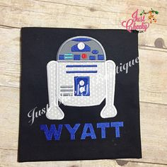 R2D2 Inspired  Star Wars Inspired  Kids by JustCheekyBoutiqueTX