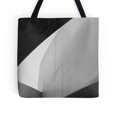 Zaha Hadid // Tote bag  A glimpse of Zaha Hadid's Maxxi Gallery in Rome