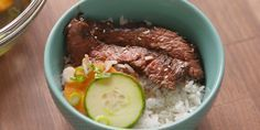 This delicious homemade Korean BBQ rice bowl comes together in a flash.