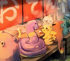 Pokemon Red, Pokemon Comics, Pokemon Memes, Pokemon Fan Art, Cute Pokemon, Ekans Pokemon, Charmander, Monster Hunter, Satoshi Pokemon