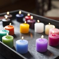 With 15 fabulous colors to choose from, you are sure to find a Votive Candle in the perfect color for you!