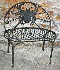 Midnight in the Garden of Evil: Spider Bench