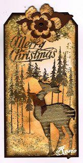 Rosie's Bastelwelt: Christmas in Oktober  http://rosieskleinebastelwelt.blogspot.de/2012/10/christmas-in-oktober.html#