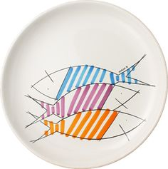 Happy Fish plates / Marine Breton for HB Henriot