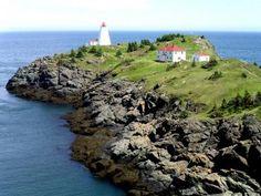 Swallowtail Lighthouse & lighthouse keeper's house, Grand Manan